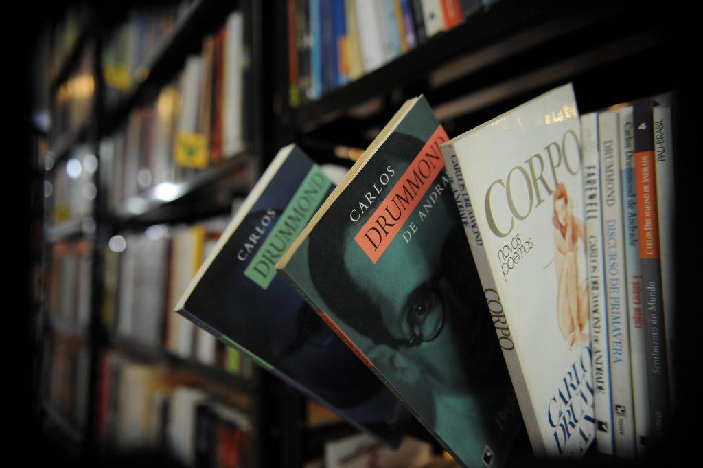 Sebo com clássicos da literatura. Crédito: José Cruz/EBC