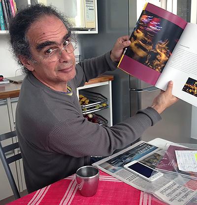 Marcelo Papaterra, crítico da superexposição de crianças no meio artístico. Crédito: arquivo pessoal