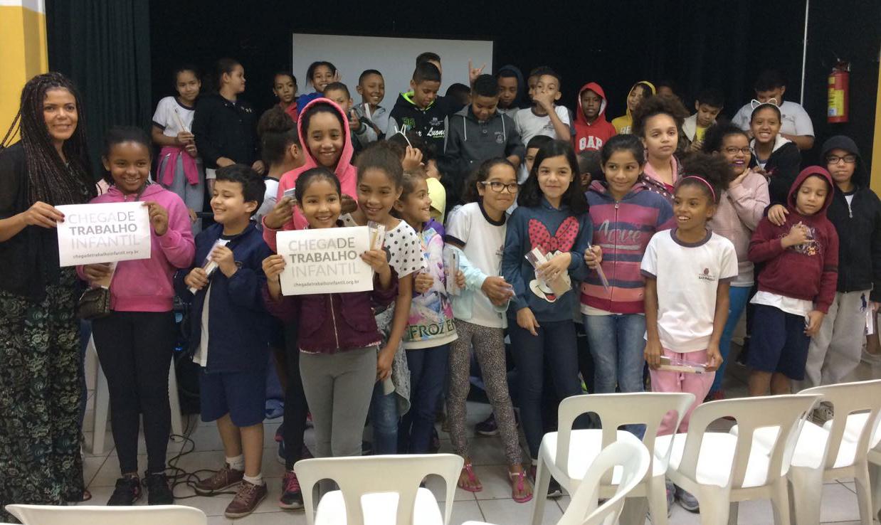 Crédito: Gabriela Rodrigues/Rede Peteca - Chega de Trabalho Infantil