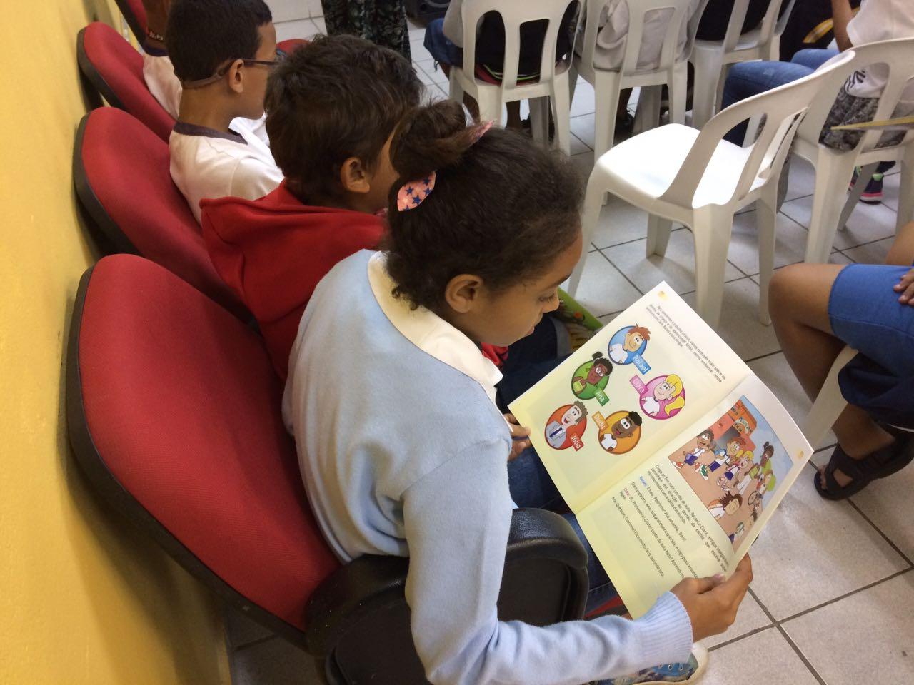 Formação sobre trabalho infantil. Crédito: Gabriela Rodrigues