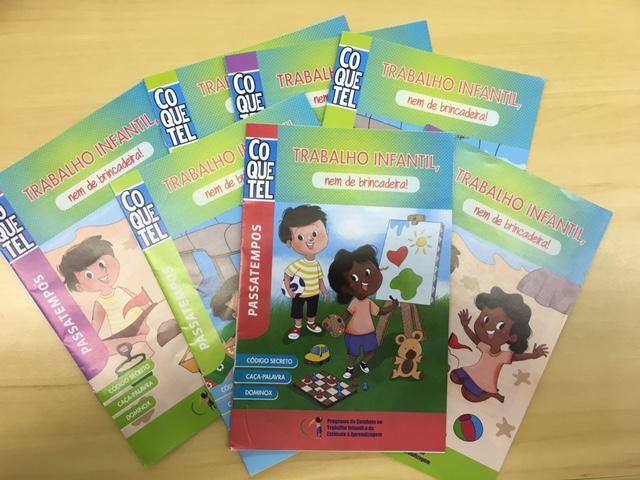 Edição especial da revista Coquetel sobre trabalho infantil