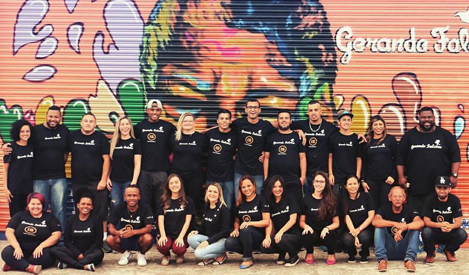 Equipe do Instituto Gerando Falcões (Crédito: Divulgação)