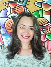 Psicóloga em Fortaleza (CE), Fernanda Candido fala sobre o papel dos profissionais da psicologia no combate ao trabalho infantil. Crédito: Arquivo Pessoal