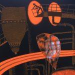 Ilustração do livro Carvoeirinhos, de Roger Mello. Obra trata do trabalho infantil