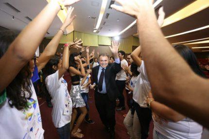ENAPETI: procurador Antonio de Oliveira Lima em encontro de jovens contra o trabalho infantil, realizado em Fortaleza