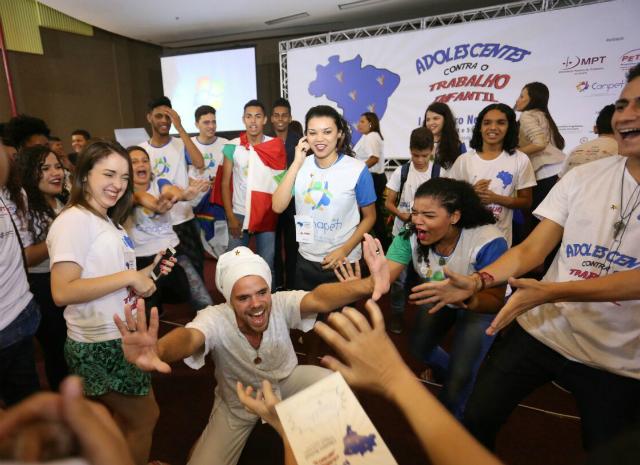 ENAPETI: encontro de jovens contra o trabalho infantil, realizado em Fortaleza
