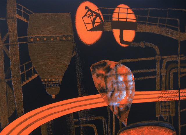 """Ilustração de """"Carvoeirinhos"""" (2009), de Roger Mello, retrata o trabalho infantil"""