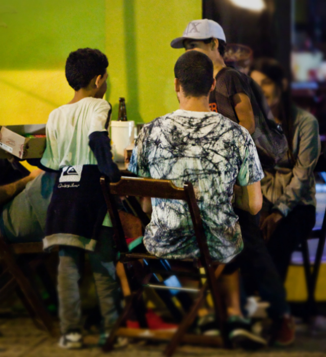 Trabalho Infantil na Vila Madalena - Rede Peteca - Chega de Trabalho Infantil