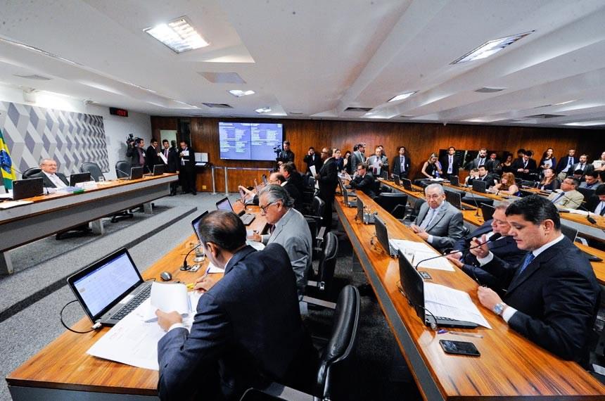 O que faz a Comissão de Constituição, Justiça e Cidadania? Crédito Edilson Rodrigues/Agência Senado