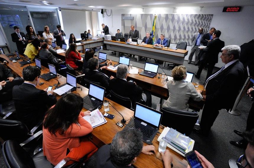 O que faz a CCJ? Crédito Edilson Rodrigues/Agência Senado