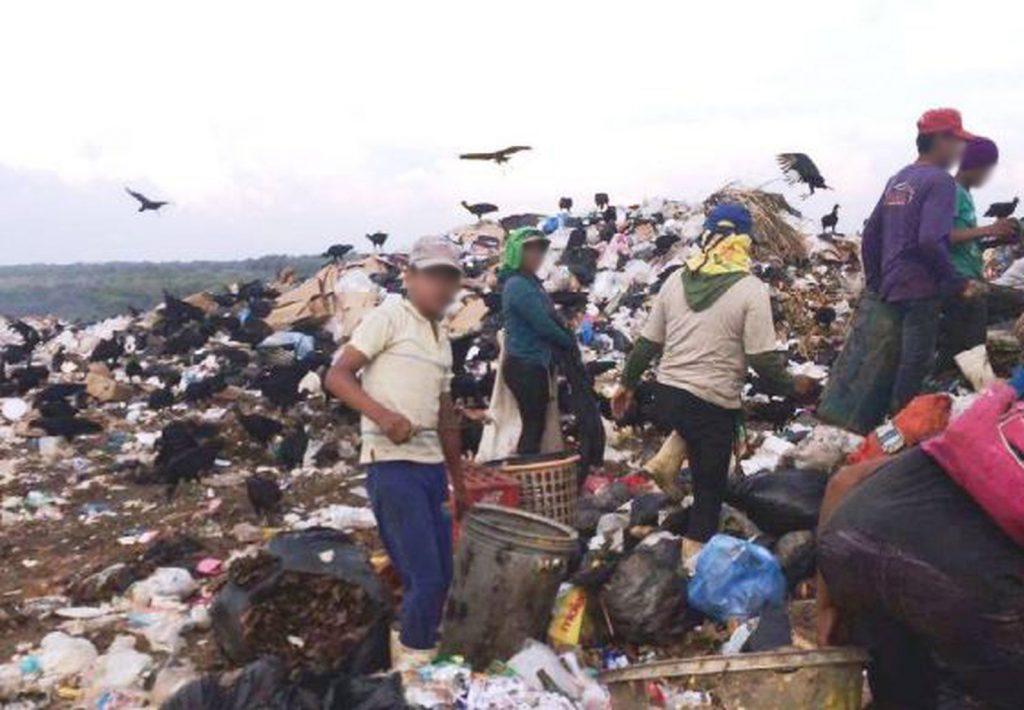 Trabalho infantil no lixão de Boa Vista, em Roraima. Crédito: Ministério do Trabalho/Divulgação
