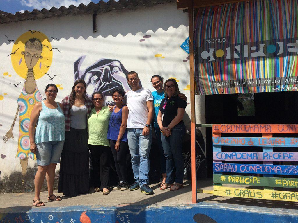 Organização de Francisco Morato (SP) se engaja em campanhas de conscientização para combater o trabalho infantil e na formação de profissionais do município. Crédito: Cecília Garcia