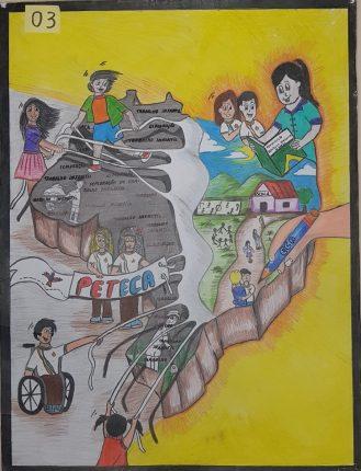 vencedor do mpt na escola categoria desenho