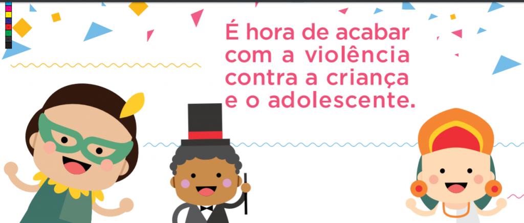 Detalhes do material de campanha do Ministério de Direitos Humanos para o Carnaval 2018. (Crédito: Divulgação)