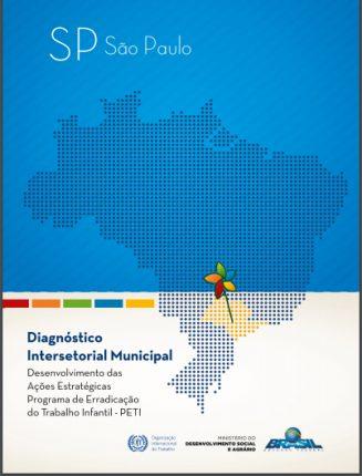 Capa do diagnóstico Intersetorial da OIT - São Paulo