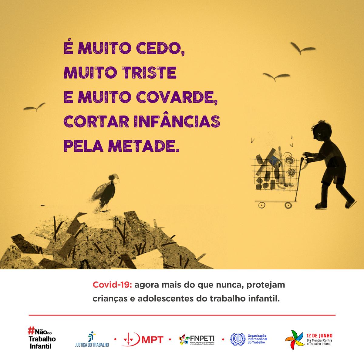 Campanha alerta para risco de aumento do trabalho infantil com ...