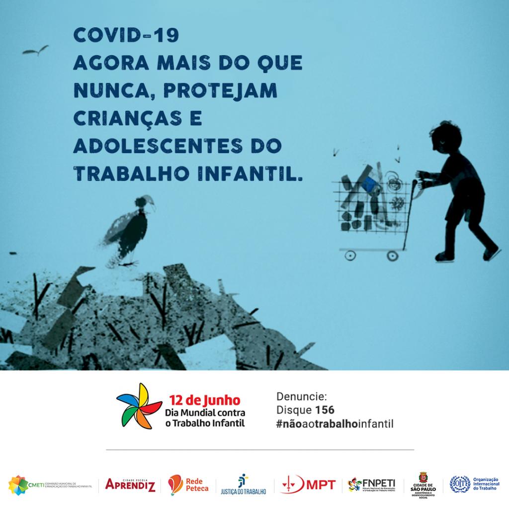 dia mundial contra o trabalho infantil rede peteca